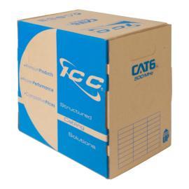CAT6 Bulk Cable UTP Riser ICCABR6VBL