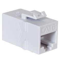 CAT6 RJ45 Keystone Coupler HD Style IC107CP6WH
