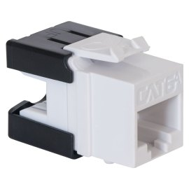 CAT6A RJ45 Keystone Jack UTP HD Style IC1078GAWH