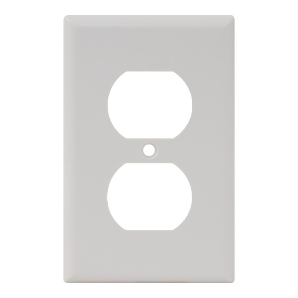 Electrical Faceplate 2 Ports Single IC106FP2WH