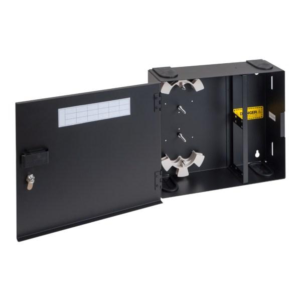 LGX Fiber Optic Wall Mount Enclosure 4 Panels ICFODE41WM