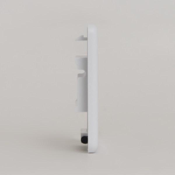 Modular Furniture Faceplate 4 Port NEMA Side IC107FN4WH
