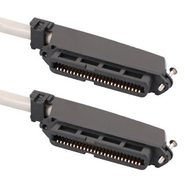 Female to Female Telco Cable Assembly in 25 Pair