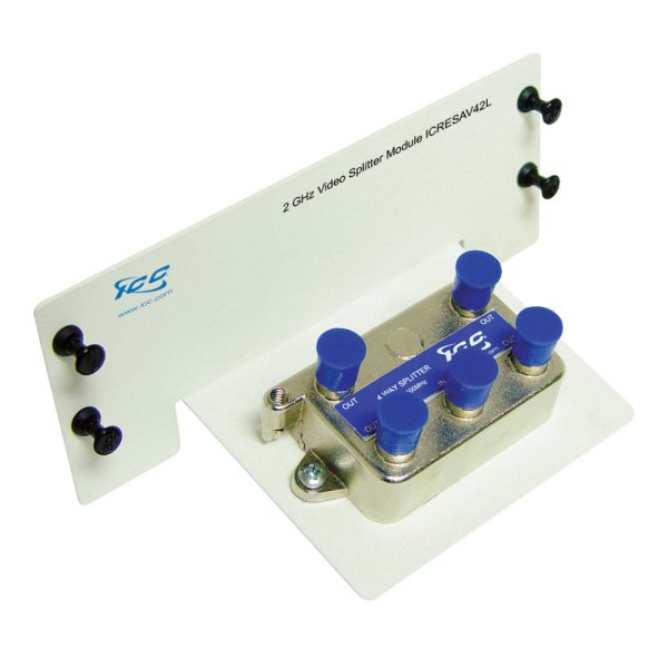 Video Splitter Module with 4 Ports and 2 GHz ICRESAV42L