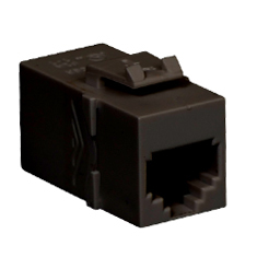 Voice RJ11 Keystone Coupler with Pin 1-1 for HD Style