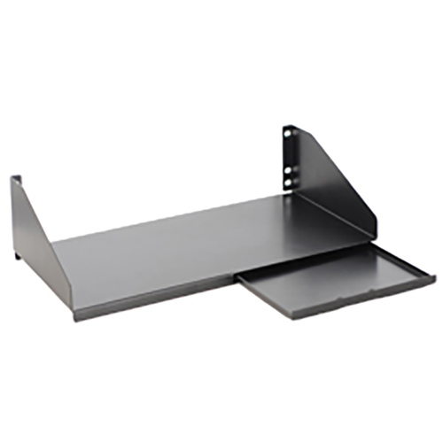 "10"" Deep Keyboard Shelf with Sliding Mouse Tray with 3 RMS"