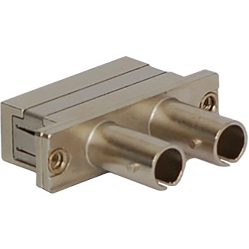 SC-ST Duplex Fiber Optic Adapter with Ceramic Sleeve