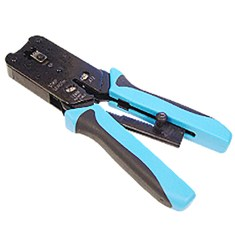 Heavy Duty Crimping Tool for 8P8C and RJ45 Plugs