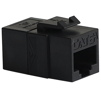 CAT 6A RJ45 Keystone Coupler for HD Style