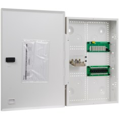 """21"""" Wiring Enclosure Combo with Voice, Data and Video"""