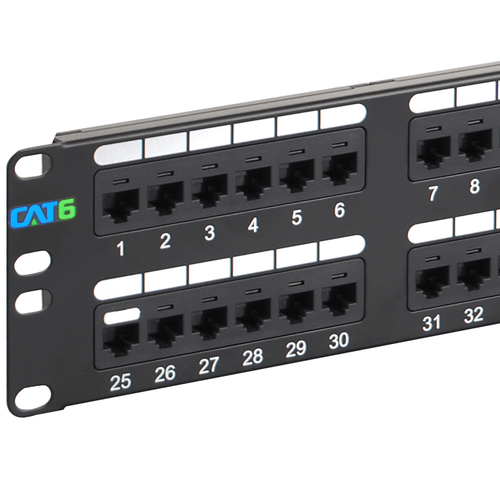 Cat6 patch panel with 48 ports and 2 rms icc cat 6 patch panel with 48 ports and 2 rms asfbconference2016 Image collections