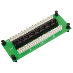 Data Module CAT 6 with 8 Ports