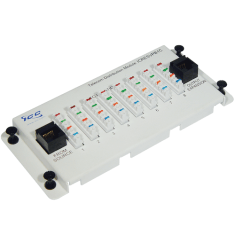 Telephone Expansion Module with Steel Bracket and 8 Ports