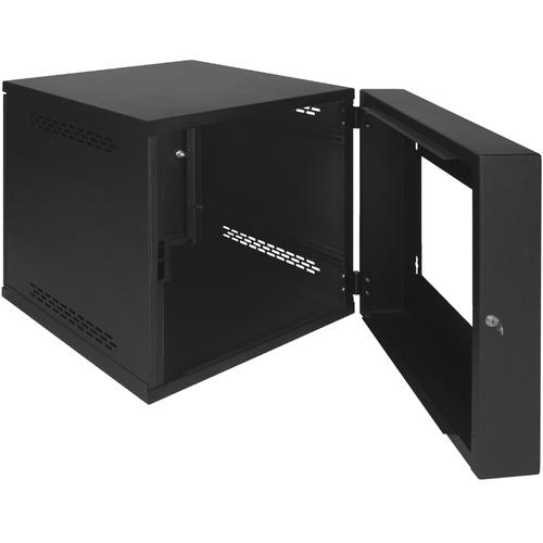 Wall Mount Server Cabinet with Plexiglass Door in 12 RMS