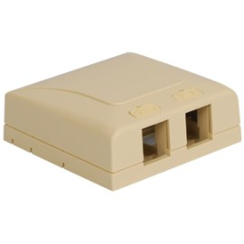 Elite Surface Mount Box with 2 Ports