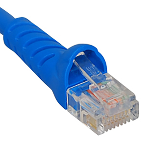 BOOT CAT 6 ICC PATCH CORD 1 BL