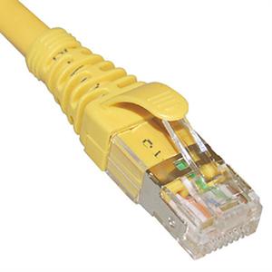 CAT6A U/FTP Patch Cord in Yellow