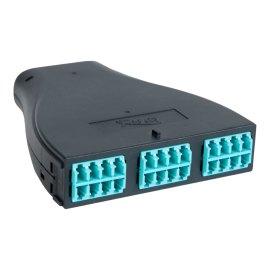 Plastic Cassette LC MPO 24F 10G OM3 50 125 ICFC24MLPG
