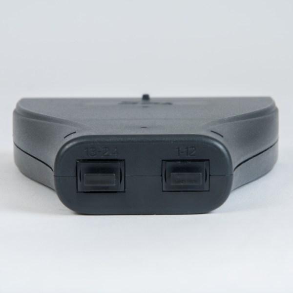 Plastic Cassette LC MPO 24F OS1 9 125 Back ICFC24SLP9