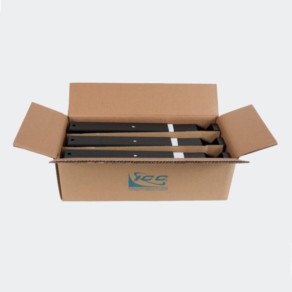Ladder Rack Triangular Wall Support Kit 6-Pack Packaging ICCMSLTWS6