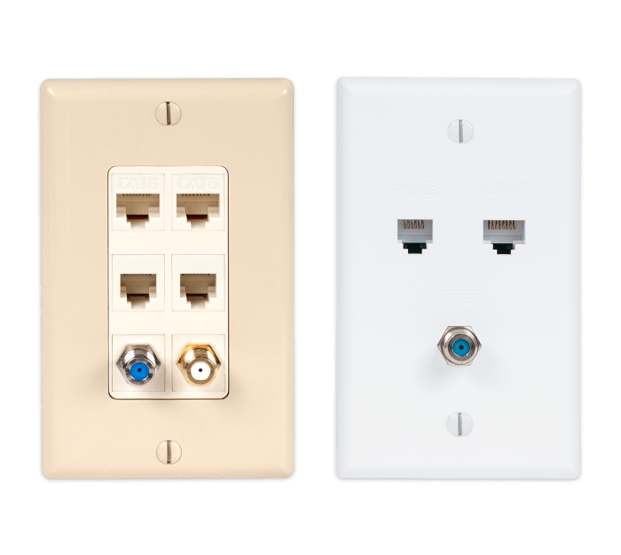 Comparison of Modular Wall Plate and Integrated Wall Plate