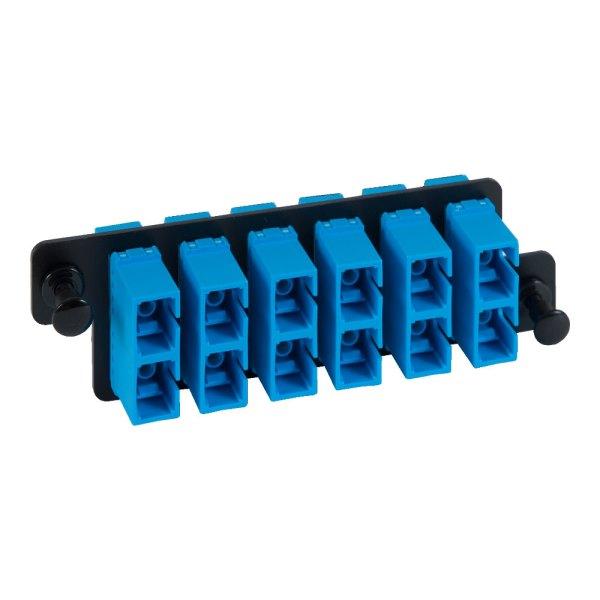 HD Adapter Panel 6 Duplex SC Blue ICFOPC16H9