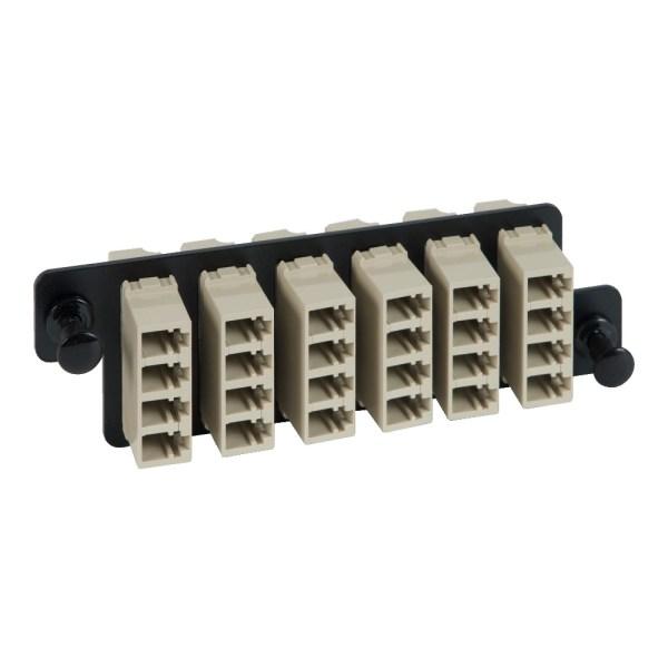 HD Adapter Panel 6 Quad LC Beige ICFOPL16H5