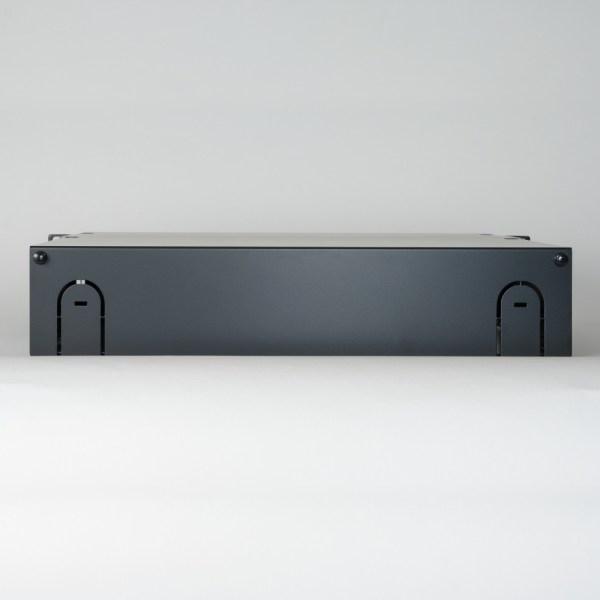 HD Fiber Optic Rack Mount Enclosure 8 Panels 2 RMS Back ICFORE82RM