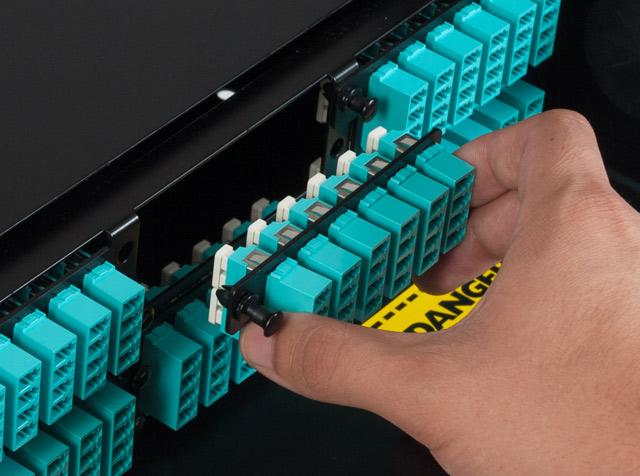 Image of High Density Fiber Optic Adapter Panel
