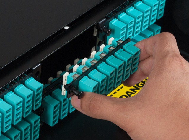 Image of High Density Fiber Optic Adapter Panel