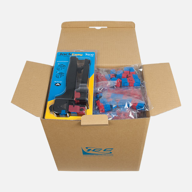 CAT6 HD Keystone Jack - 400-Pack with free tool