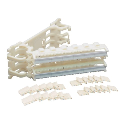 110 Cat 5e Wiring Block Kit with Hinged and 100 Pair IC110H1004