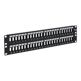 Blank Patch Panel with 48 Ports for HD Style IC107BP482