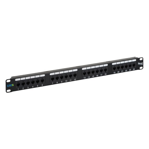 CAT 6 Patch Panel with 24 Ports and 1 RMS ICMPP02460
