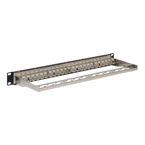 CAT 6A FTP Shielded Patch Panel with 24 Ports and 1 RMS Back ICMPP246AS