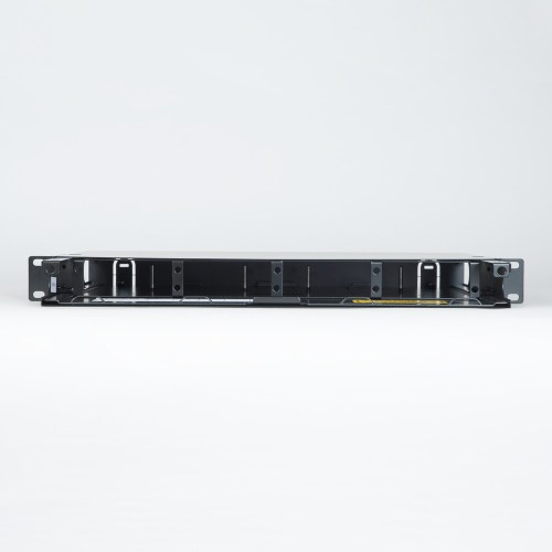 Fiber Optic Rack Mount Enclosure 4 Panel 1 RMS No Front Cover