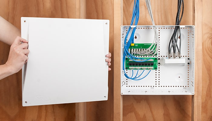 14 inch Plastic Wiring Enclosure for Wireless Networks