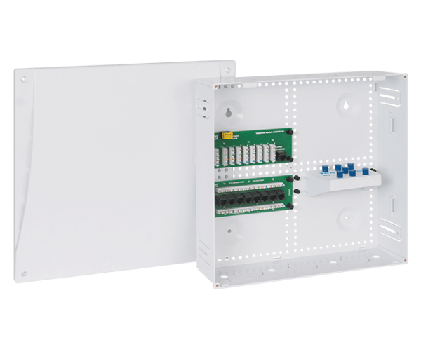 Voice Data Video Wiring Enclosure Combo