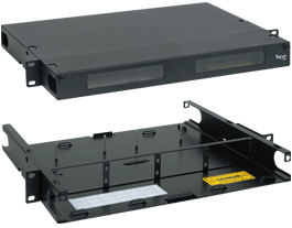 HD 1 RMS Rack Mount Enclosure with 4 Slots