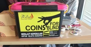 coins for blind