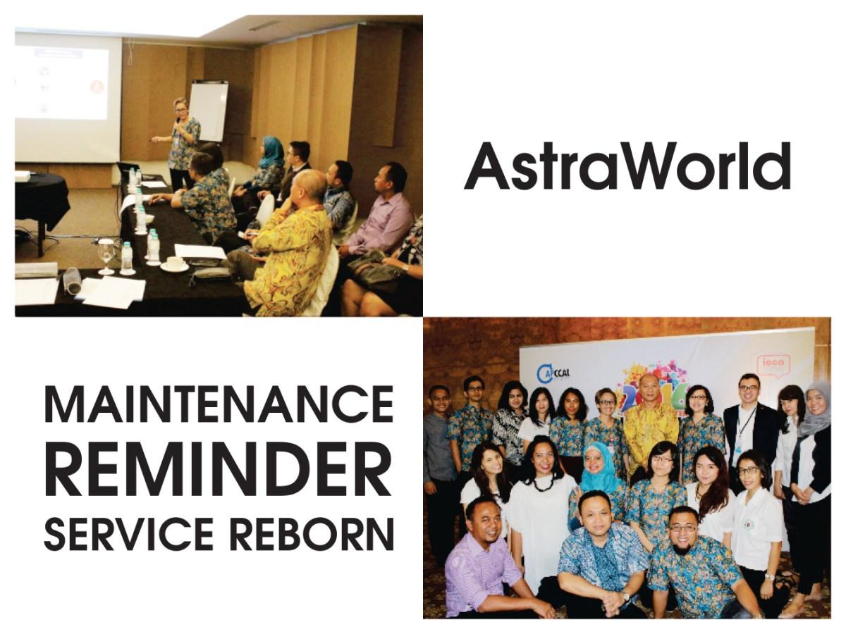 Maintenance Reminder Service Reborn