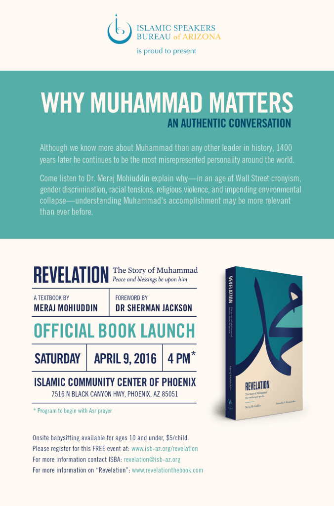 ISBA - Why Muhammad Matters An Authentic Conversation