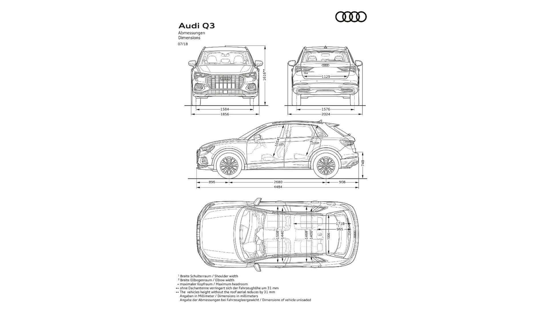 Model Yeni Audi Q3 Tan T M Ve Guncel Tum Bilgiler