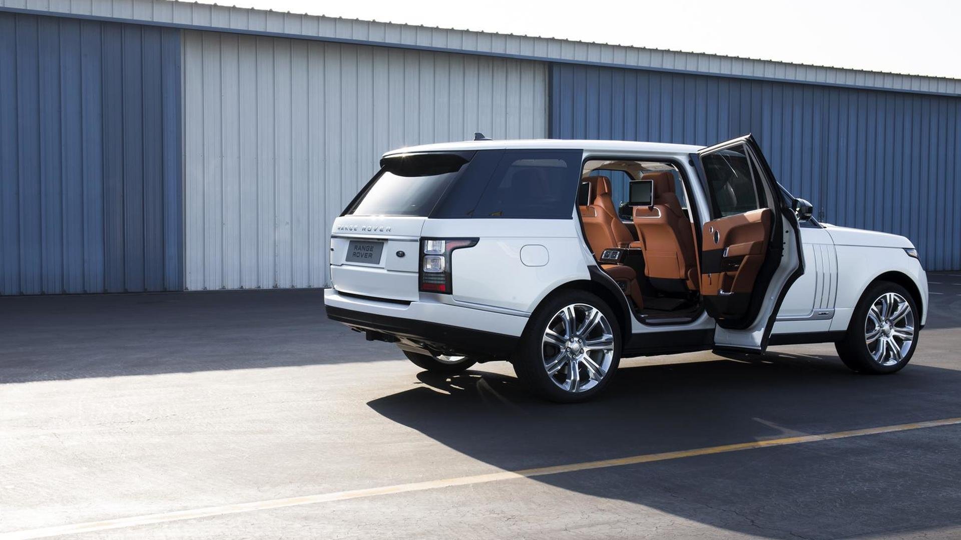 Land Rover working on an ultra luxurious £200 000 Range Rover for 2016