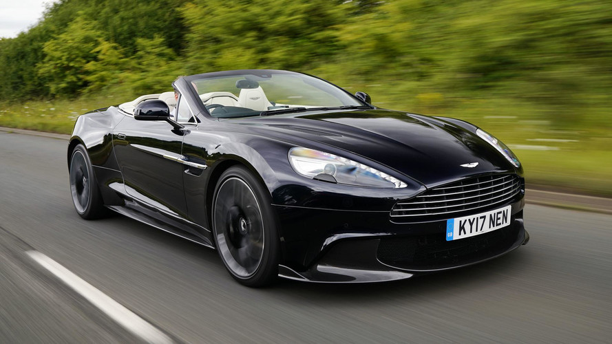 2018 Aston Martin Vanquish S Volante First Drive The