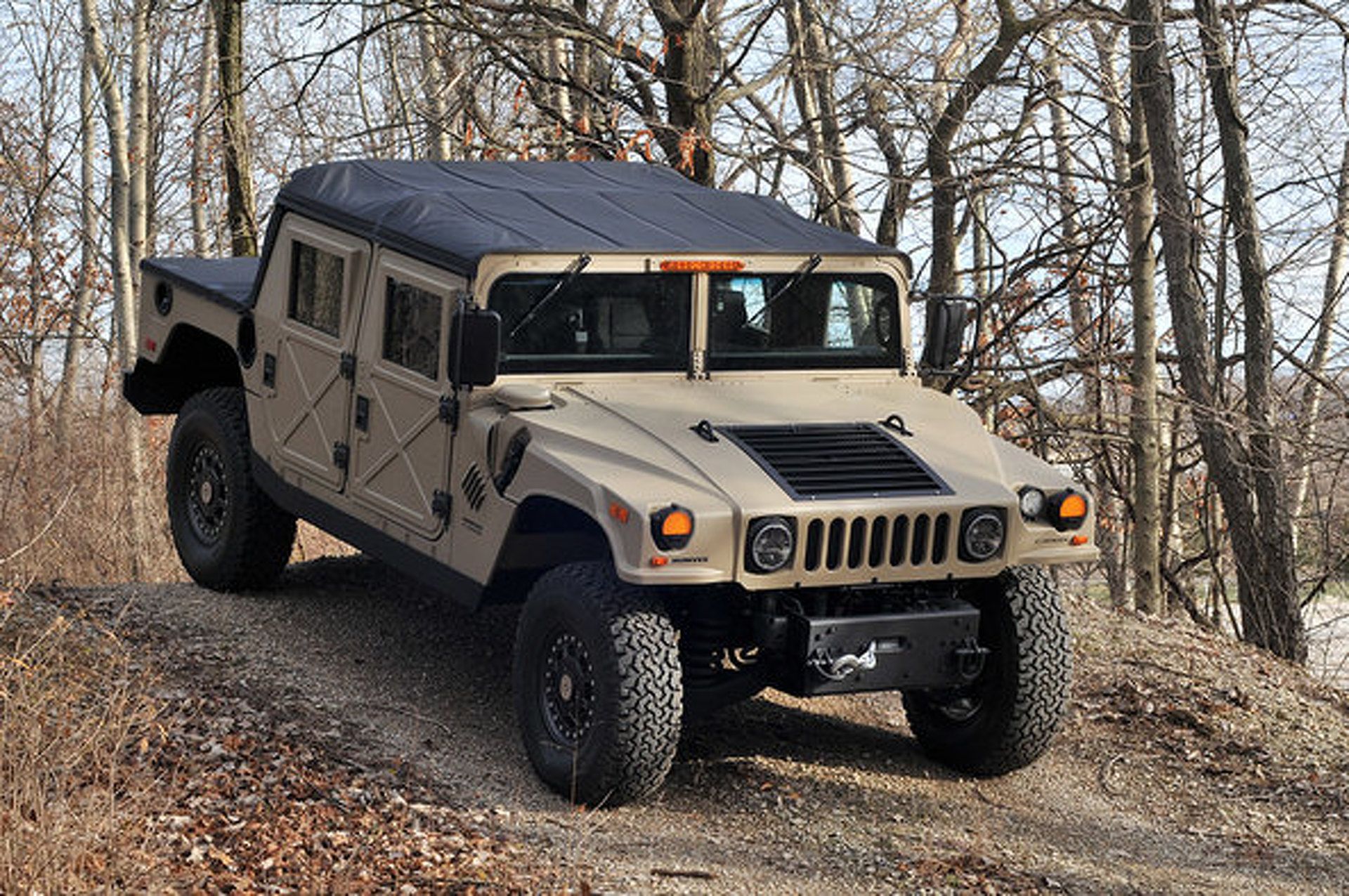 How Would You Power A Brand New Humvee Kit