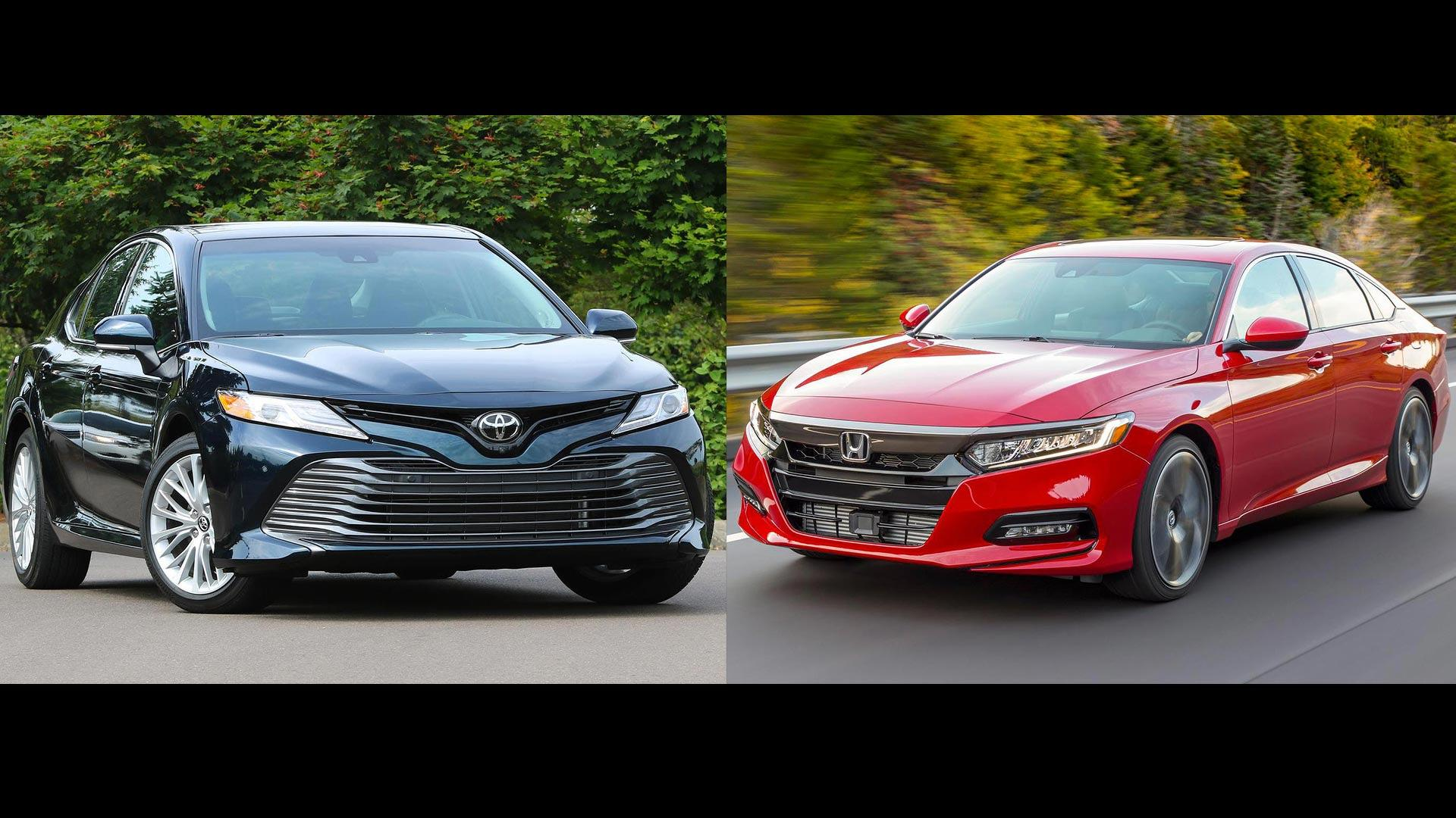 all new camry vs accord suspensi grand avanza keras 2018 honda toyota the family sedan