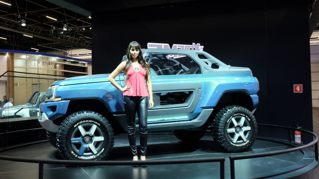 Brazils Troller T4 Xtreme Concept Envisions Possible