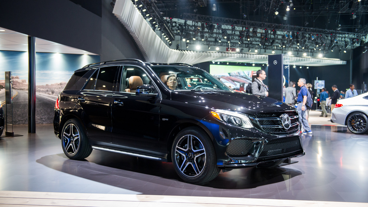 New Mercedes AMG GLE43 Flexes Its Muscle In LA