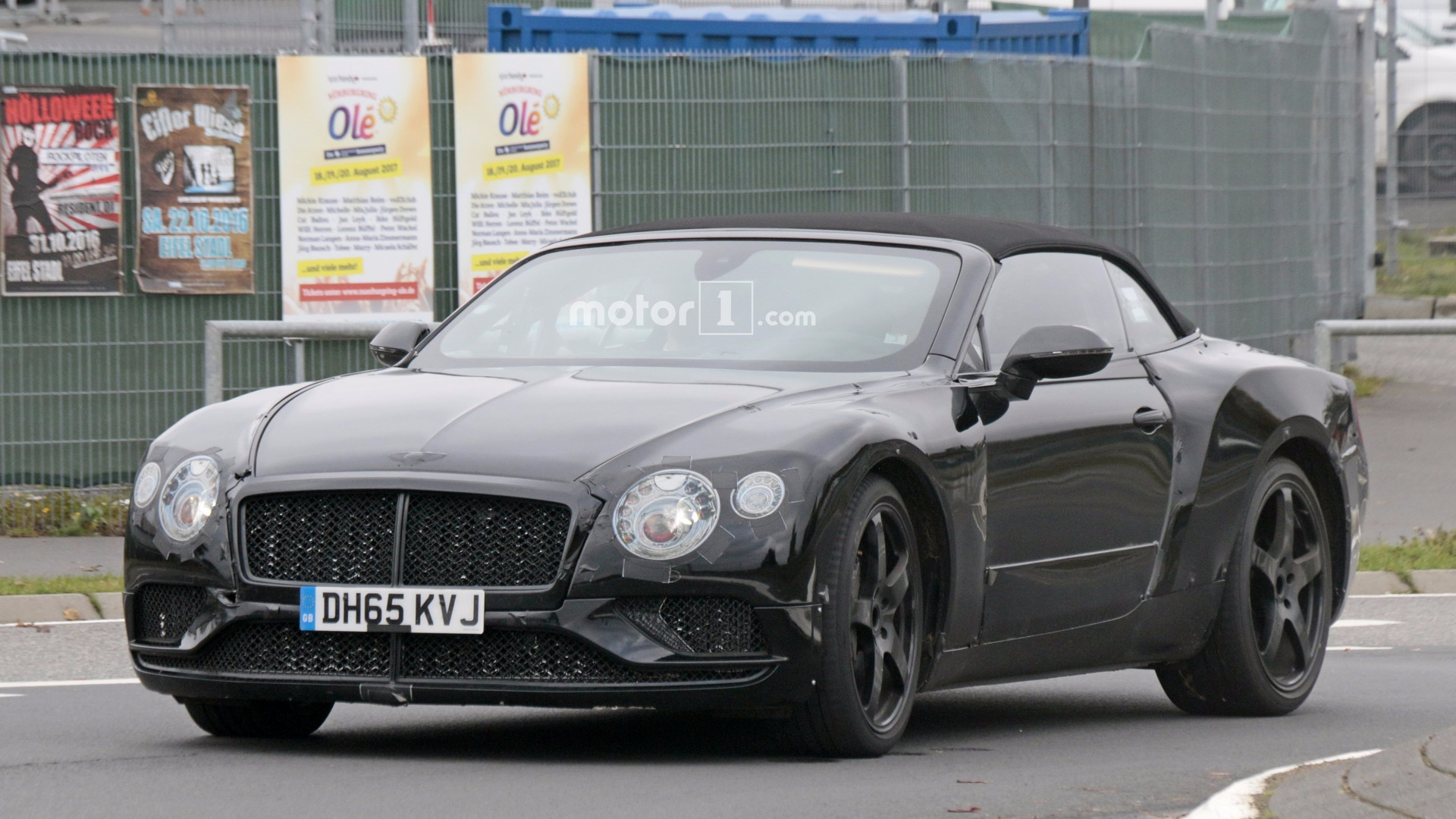 2018 Bentley Continental Gt, Gtc Stalked At The